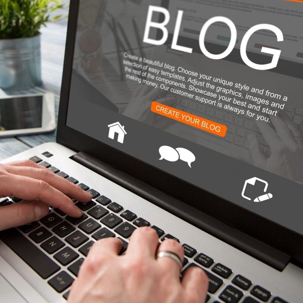 título blog